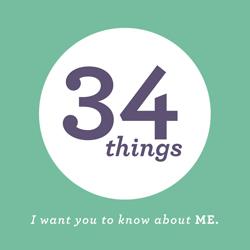 34 things _badge