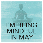 I'm Sitting for Clean Water   Mindful in May