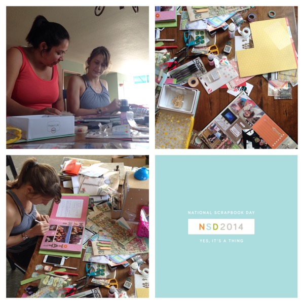 Take a Moment - (inter)National Scrapbooking Day | Mindful Memory Keeping