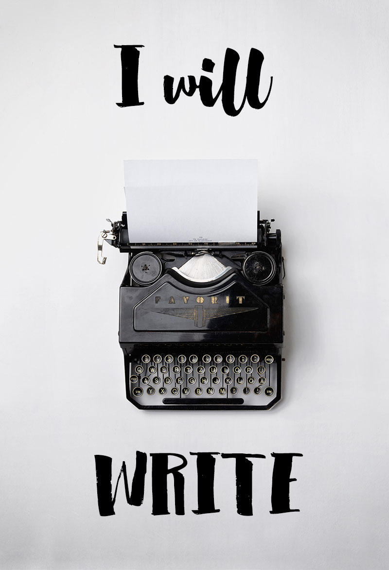 I Will Write | Mindful Memory Keeping