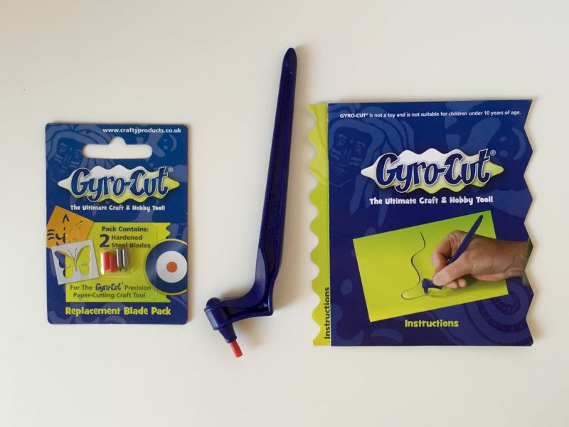 Gyro-Cut   free-form paper cutting tool for all  your papercrafting needs