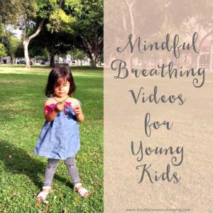 6 Mindful Breathing Videos for Young Kids | Learn more at www.mindfulmemorykeeping.com