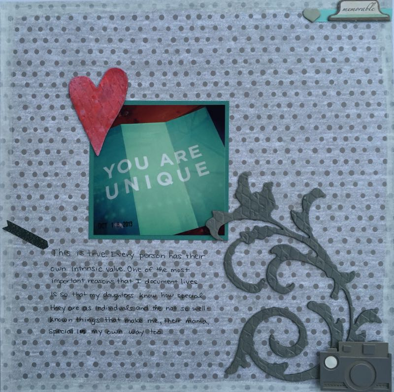 you are unique | Art Builds Self-Confidence